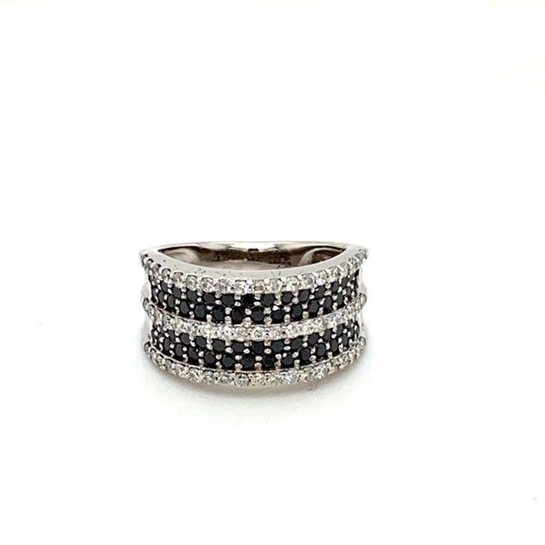 Estate White and Black Diamond Ring Toner Jewelers Overland Park, KS