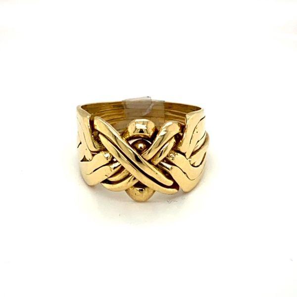 Estate Gold Puzzle Ring Toner Jewelers Overland Park, KS