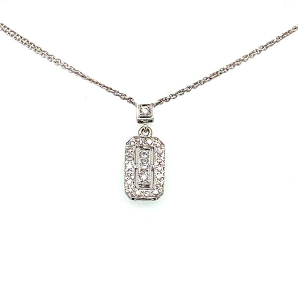Estate Diamond Necklace Toner Jewelers Overland Park, KS