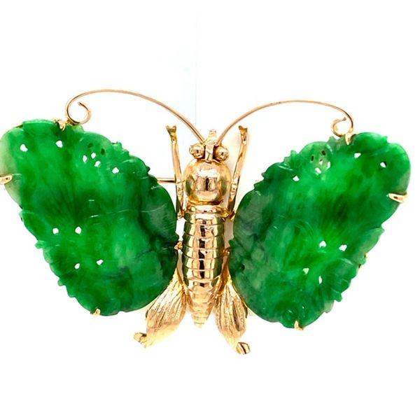 Estate Jade Brooch Toner Jewelers Overland Park, KS