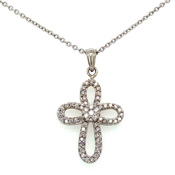 Estate Diamond Cross Necklace Toner Jewelers Overland Park, KS
