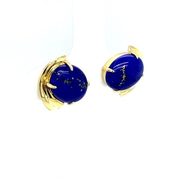 Estate Lapis Earrings Image 2 Toner Jewelers Overland Park, KS