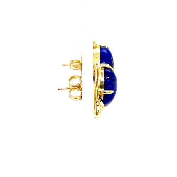 Estate Lapis Earrings Image 3 Toner Jewelers Overland Park, KS