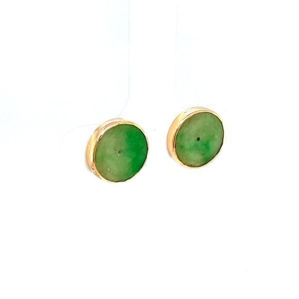 Estate Jade Earrings  Image 2 Toner Jewelers Overland Park, KS