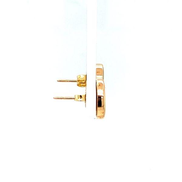 Estate Jade Earrings  Image 3 Toner Jewelers Overland Park, KS