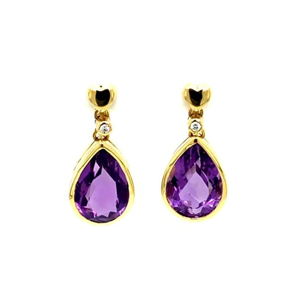 Estate Amethyst Earrings  Toner Jewelers Overland Park, KS