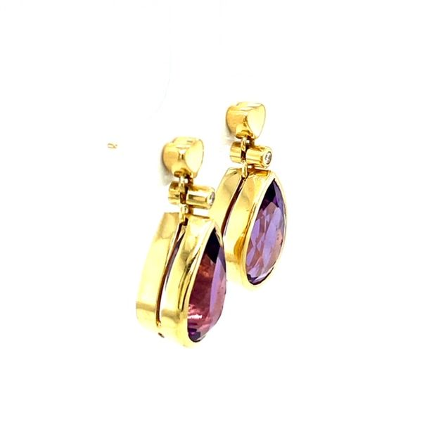 Estate Amethyst Earrings  Image 3 Toner Jewelers Overland Park, KS