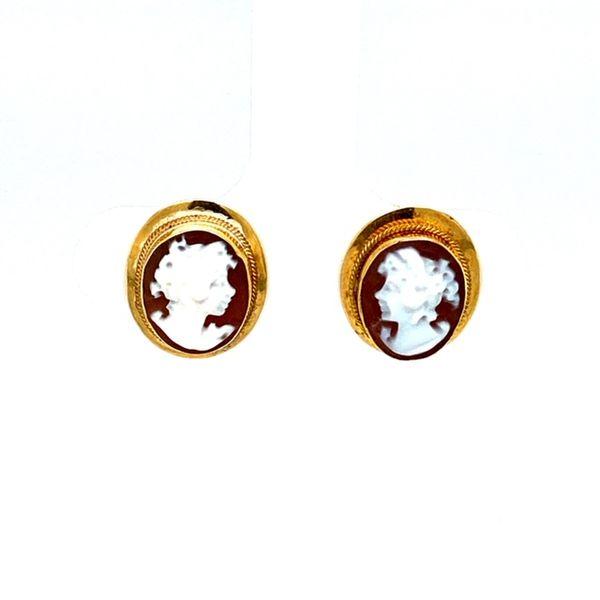 Estate Cameo Earrings  Toner Jewelers Overland Park, KS