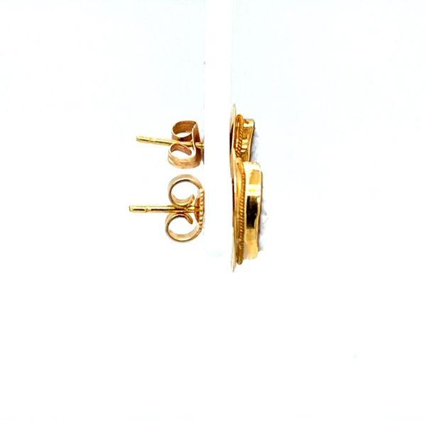 Estate Cameo Earrings  Image 3 Toner Jewelers Overland Park, KS