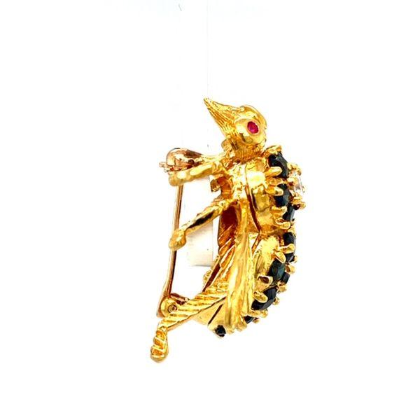 Estate Bee Brooch Image 3 Toner Jewelers Overland Park, KS