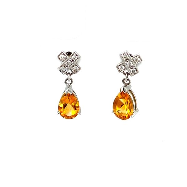 Estate Citrine Earrings Toner Jewelers Overland Park, KS