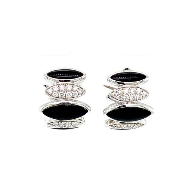 Estate Diamond and Onyx Earrings Toner Jewelers Overland Park, KS