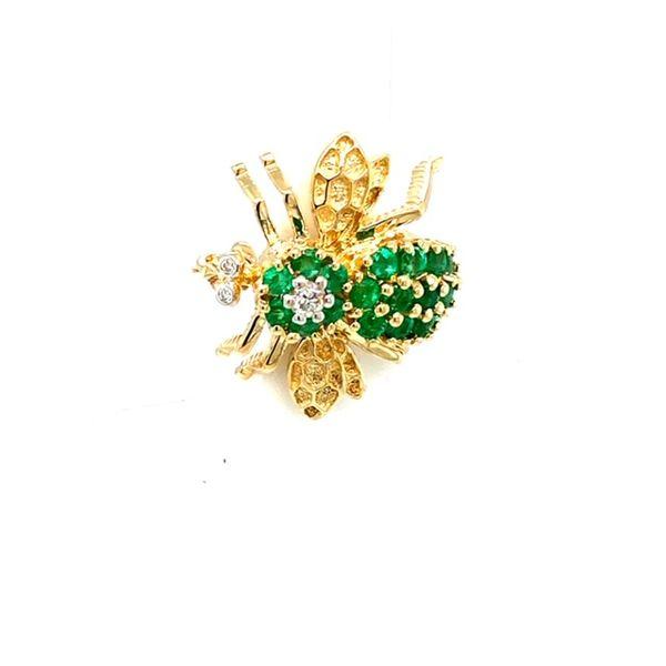 Estate Bee Brooch Image 2 Toner Jewelers Overland Park, KS