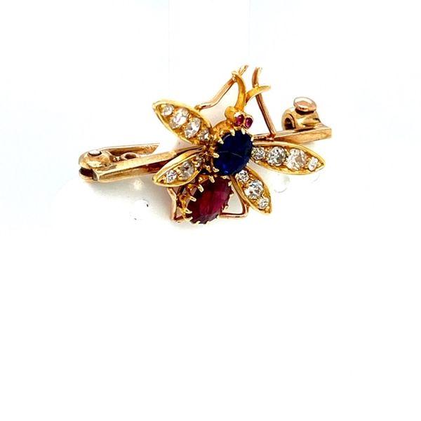 Estate Dragonfly Brooch Image 2 Toner Jewelers Overland Park, KS