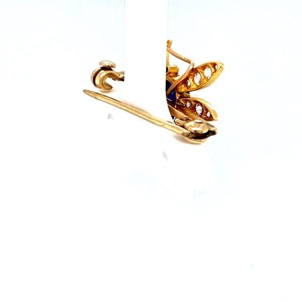 Estate Dragonfly Brooch Image 3 Toner Jewelers Overland Park, KS