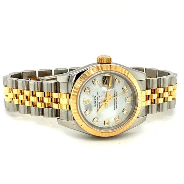 Ladies Datejust Rolex Image 2 Toner Jewelers Overland Park, KS