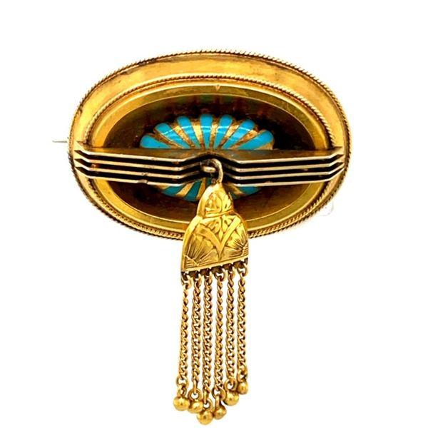 Estate Antique Turquoise Brooch  Toner Jewelers Overland Park, KS