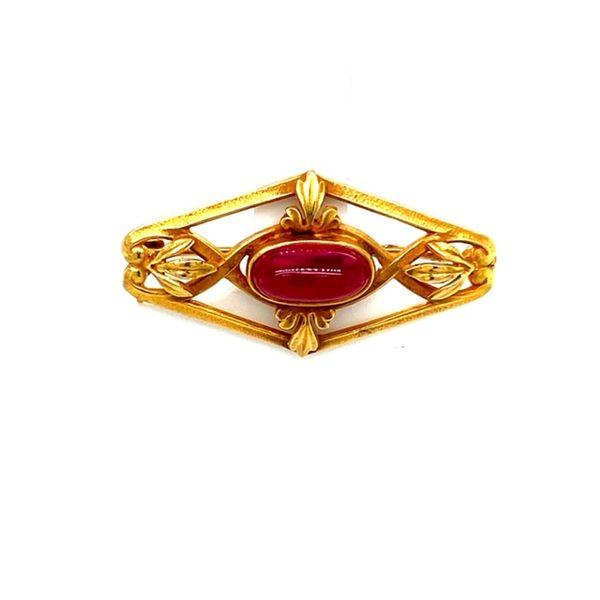 Estate Spinel Brooch  Toner Jewelers Overland Park, KS