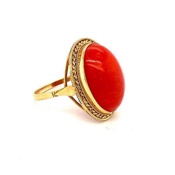 Estate Coral Ring Image 3 Toner Jewelers Overland Park, KS