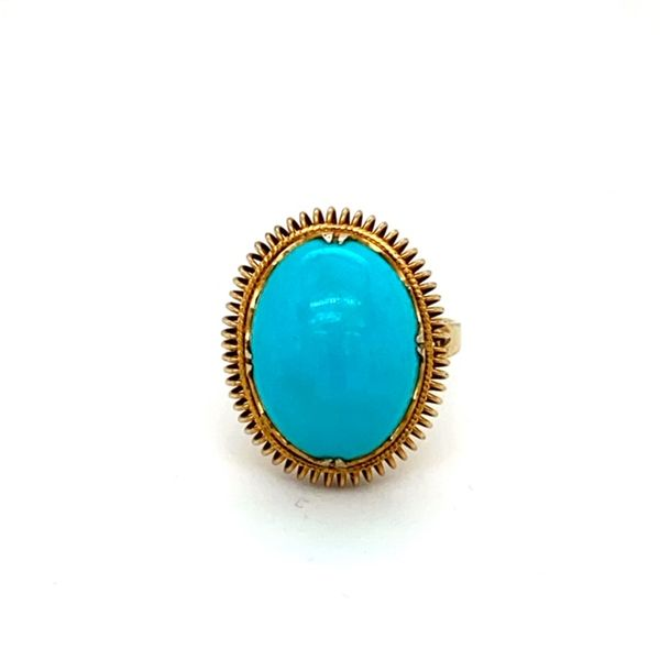 Estate Turquoise Ring Toner Jewelers Overland Park, KS