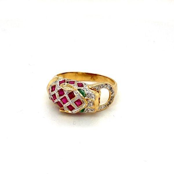 Estate Ruby Panther Ring Toner Jewelers Overland Park, KS