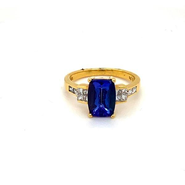 Estate Tanzanite Ring Toner Jewelers Overland Park, KS