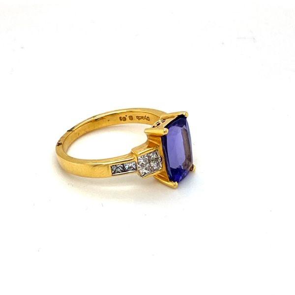 Estate Tanzanite Ring Image 3 Toner Jewelers Overland Park, KS
