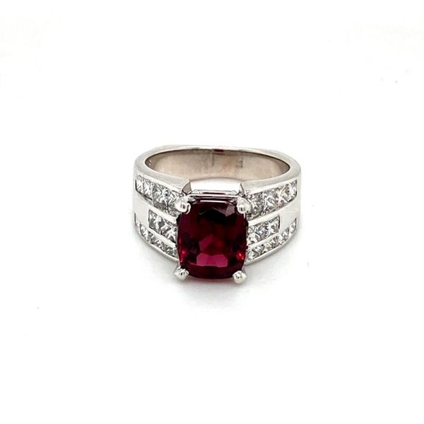 Estate Garnet Ring Toner Jewelers Overland Park, KS