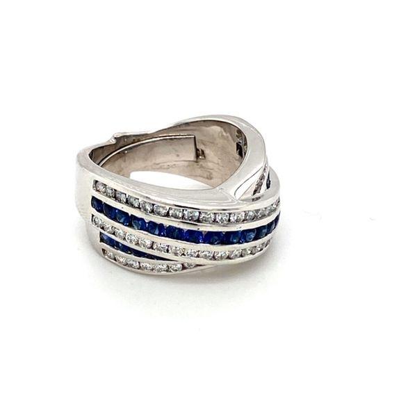 Estate Sapphire and Diamond Ring Image 2 Toner Jewelers Overland Park, KS