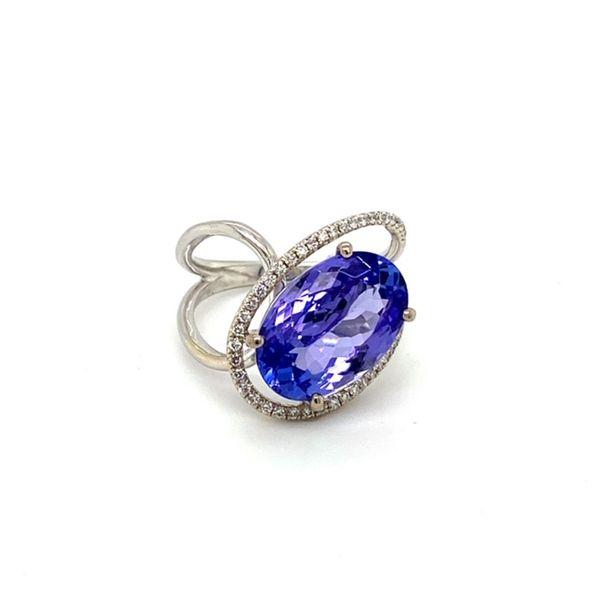Tanzanite Ring Image 2 Toner Jewelers Overland Park, KS