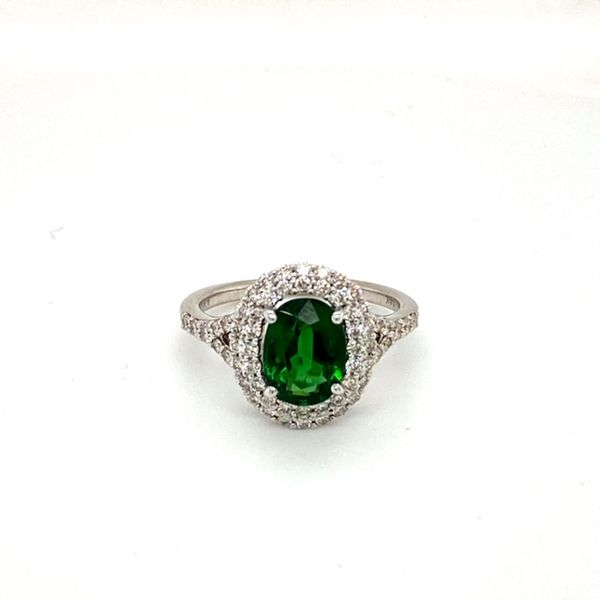 Oval Chrome Tourmaline Ring Toner Jewelers Overland Park, KS