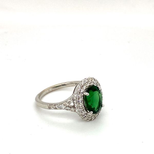 Oval Chrome Tourmaline Ring Image 3 Toner Jewelers Overland Park, KS