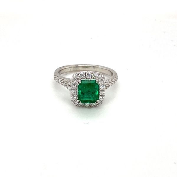 Emerald Ring Image 4 Toner Jewelers Overland Park, KS