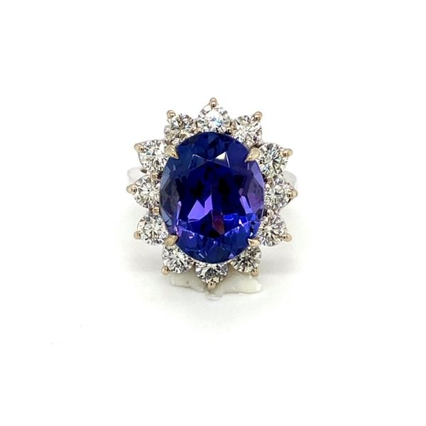 Tanzanite and Diamond Ring Toner Jewelers Overland Park, KS