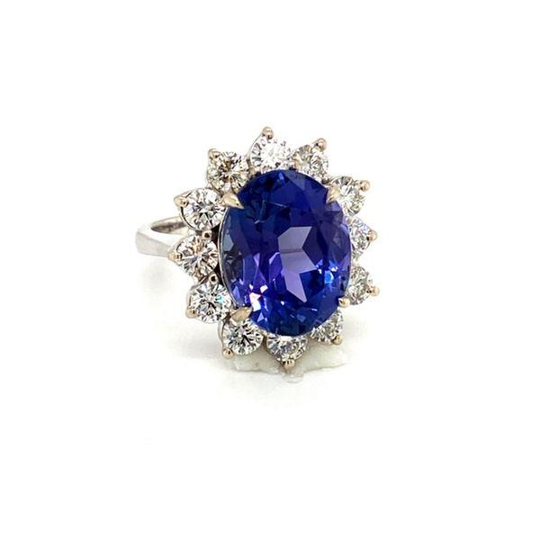 Tanzanite and Diamond Ring Image 2 Toner Jewelers Overland Park, KS