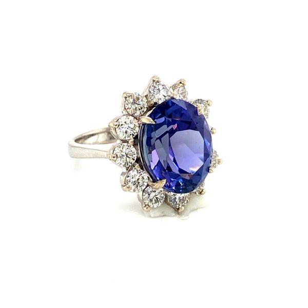 Tanzanite and Diamond Ring Image 3 Toner Jewelers Overland Park, KS
