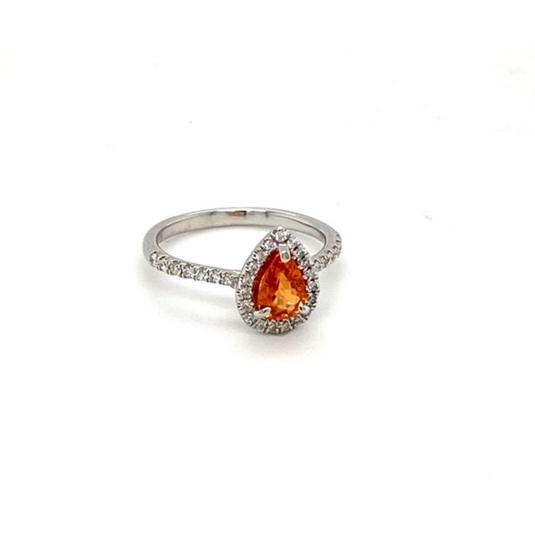 Mandarin Garnet Ring Image 2 Toner Jewelers Overland Park, KS
