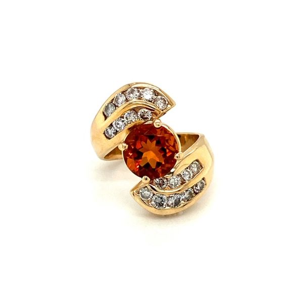 Estate Citrine Ring Toner Jewelers Overland Park, KS