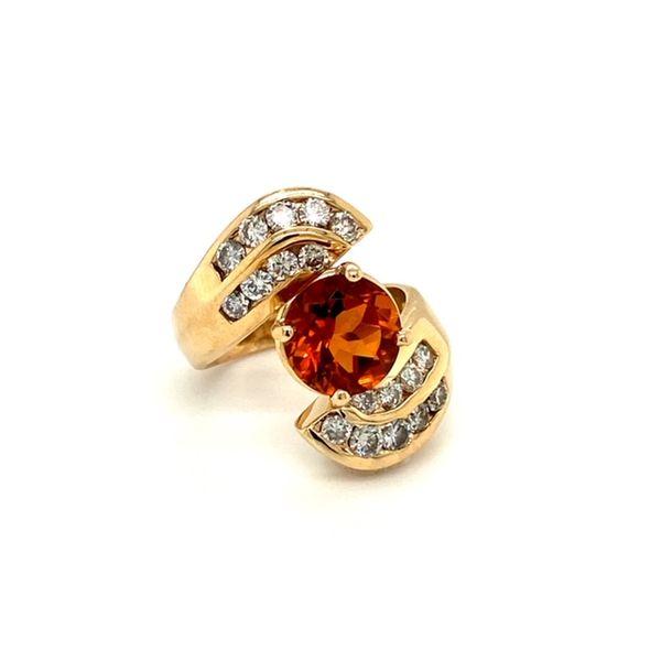 Estate Citrine Ring Image 2 Toner Jewelers Overland Park, KS