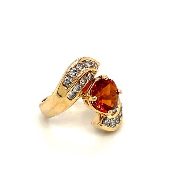 Estate Citrine Ring Image 3 Toner Jewelers Overland Park, KS