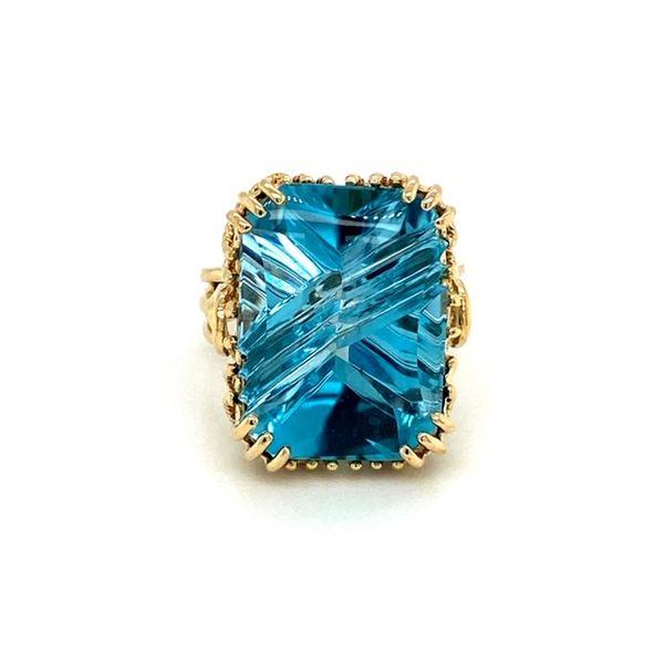 Estate Blue Topaz Ring Toner Jewelers Overland Park, KS