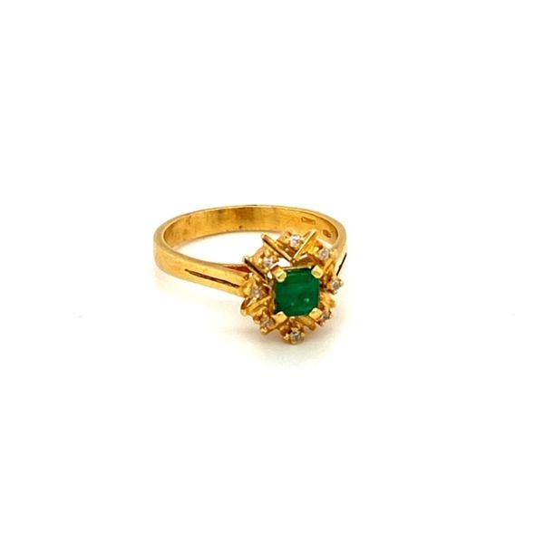 Estate Emerald Ring Image 2 Toner Jewelers Overland Park, KS