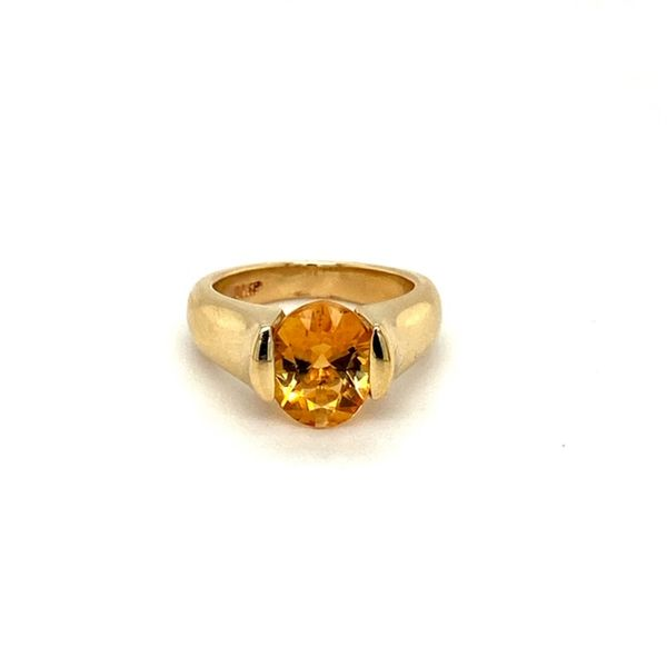 Estate Citrine Ring Toner Jewelers Overland Park, KS