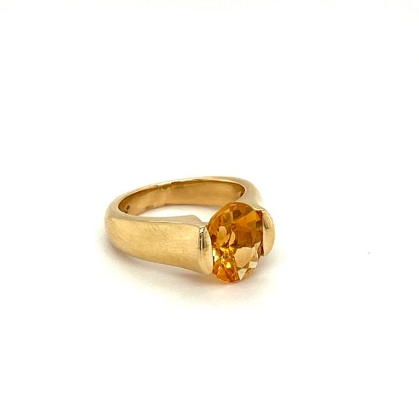 Estate Citrine Ring Image 2 Toner Jewelers Overland Park, KS