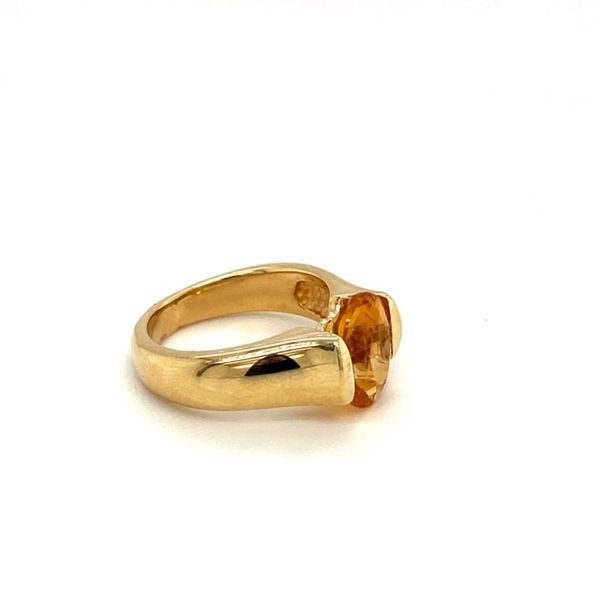 Estate Citrine Ring Image 3 Toner Jewelers Overland Park, KS