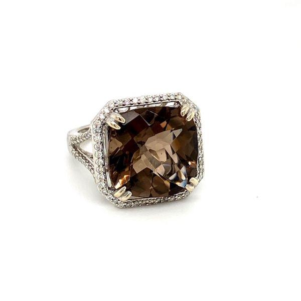 Smokey Topaz Ring Image 2 Toner Jewelers Overland Park, KS