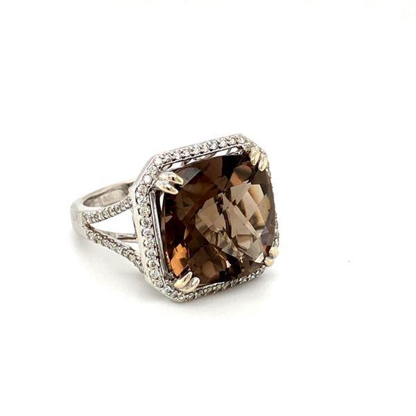 Smokey Topaz Ring Image 3 Toner Jewelers Overland Park, KS