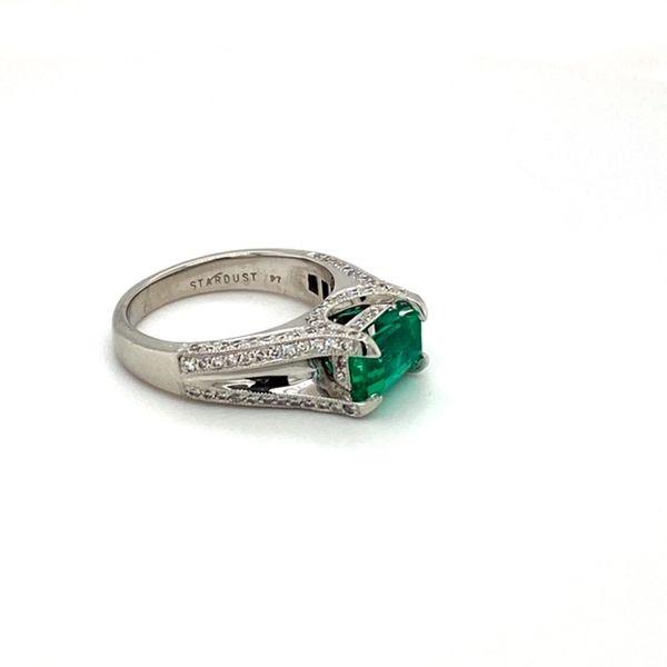 Estate Emerald Ring Image 3 Toner Jewelers Overland Park, KS