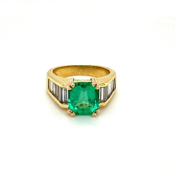 Estate Emerald Ring Toner Jewelers Overland Park, KS