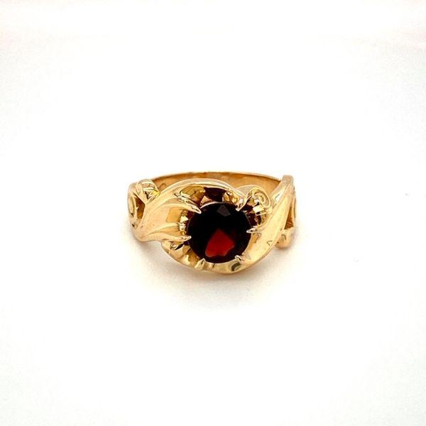 Estate Garnet Ring Toner Jewelers Overland Park, KS
